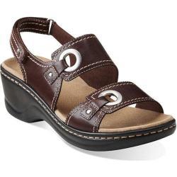 Women's Clarks Lexi Birch Brown Leather
