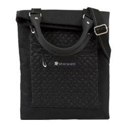 Women's Sherpani Chloe Folded Shoulder Bag/Tote Bag Black