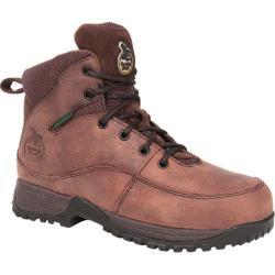 Women's Georgia Boot Riverdale Hiker Steel Toe Brown