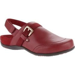 Women's Vionic with Orthaheel Technology Cairns Backstrap Mule Merlot