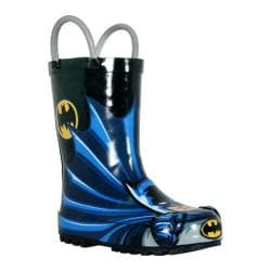 Boys' Western Chief Batman Rain Boot Black