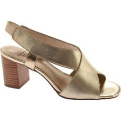 Women's Circa Joan & David Kelli Champagne Gold Suede
