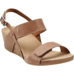 Women's Clarks Alto Disco Beige Leather