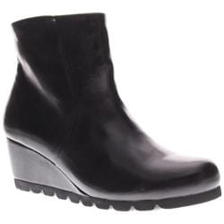 Women's Spring Step Ravel Black Leather