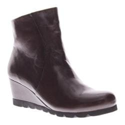 Women's Spring Step Ravel Dark Brown Leather