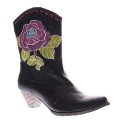 Women's L'Artiste by Spring Step Aster Black Leather