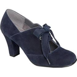 Women's Aerosoles Minor Role Dark Blue Fabric