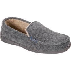 Men's Dearfoams Boiled Wool Moccasin Grey