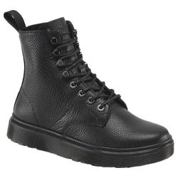Women's Dr. Martens Disc 8-Tie Boot Black Montreal Lux