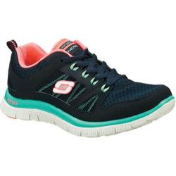 Women's Skechers Flex Appeal Adaptable Navy/Green