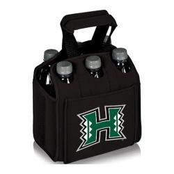 Picnic Time Six Pack Hawaii Warriors Black