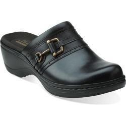 Women's Clarks Hayla Merle Black Leather