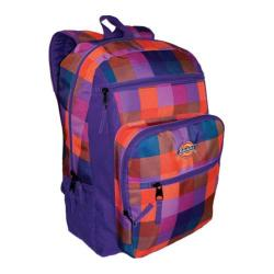 Dickies Double Deluxe Backpack Buffalo Plaid-Multicolored