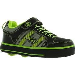 Boys' Heelys Bolt X2 Black/Lime
