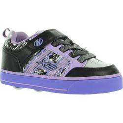 Girls' Heelys Bolt X2 Black/Lilac/Print