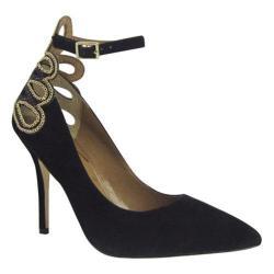 Women's J. Renee Ellusion Black Glimmer Satin 14075729