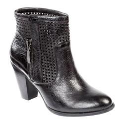 Women's Adam Tucker Brandi 16 Black Distressed Leather