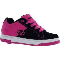 Girls' Heelys Split Black/Fuchsia
