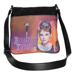Women's Audrey Breakfast at Tiffany's Messenger Bag AH1011 Black