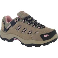 Women's Hi-Tec Bandera Low Waterproof Taupe/Blush