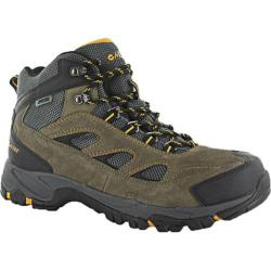 Men's Hi-Tec Logan Waterproof Smokey Brown/Gold