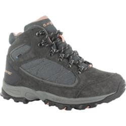 Women's Hi-Tec Oregon II Mid Waterproof Charcoal/Grey/Blush