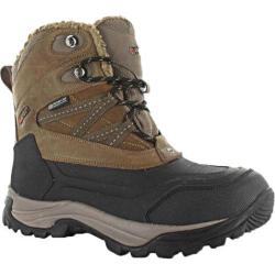 Children's Hi-Tec Snow Peak 200 Waterproof Junior Tan/Black