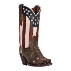 Women's Dan Post Boots Liberty DP3586 Tan Vintage Leather