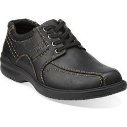 Men's Clarks Sherwin Limit Black Tumbled Leather