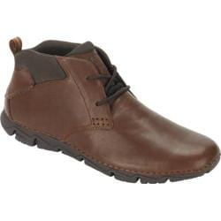 Men's Rockport Rocsports Lite 2 Chukka Boot Brown Leather