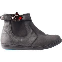 Girls' Bumbums & Baubles Larken Boot Black Shimmer Leather