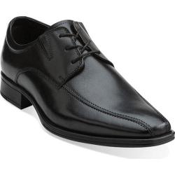 Men's Clarks Flenk Lace Black Leather