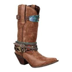 Women's Durango Boot DCRD145 12in Accessorize Brown