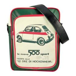 Fiat 500 Eco-leather Shoulder Bag Green