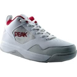 Men's Peak Finisher White/Burgundy