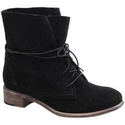 Women's Diba True Ros Ie Black Suede
