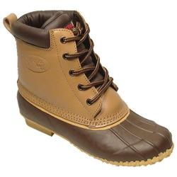 Women's Superior Boot Co. 5-Eye Duck Tan