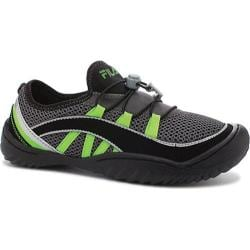Women's Fila Spectrum Castlerock/Black/Green Gecko