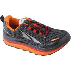 Men's Altra Footwear Olympus Gunmetal/Fiery Red/Orange Peel