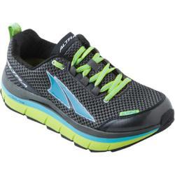Women's Altra Footwear Olympus Gunmetal/Lime Punch/River Blue
