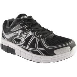 Men's Gravity Defyer Super Walk Black/Silver Mesh
