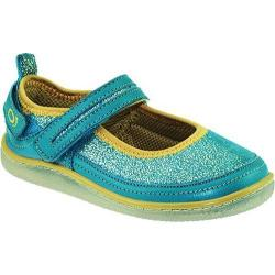 Girls' KidoFit Azure Turquoise Leather