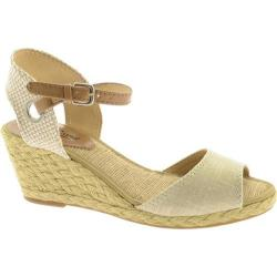 Women's Lucky Brand Kyndra Natural/Platinum Fabric