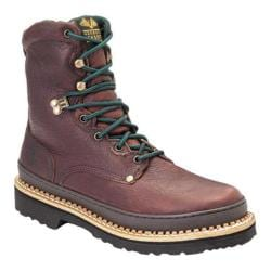 Men's Georgia Boot G82 8in Georgia Boot Low Soggy Brown Full Grain Leather