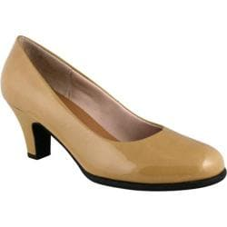 Women's Rose Petals by Walking Cradles Cabby Nude Patent Leather