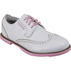 Women's TRUE Linkswear TRUE Dame White/Pink Leather
