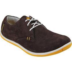 Men's TRUE Linkswear TRUE Oxford Chocolate/Orange Suede