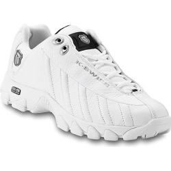 Men's K-Swiss ST329 White/Black/Silver