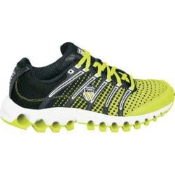 Women's K-Swiss Tubes Run 100 Neon Citron/Black Dot Fade