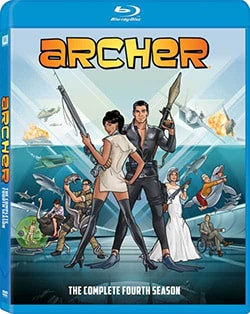 Archer: Season 4 (Blu-ray Disc) 11966278
